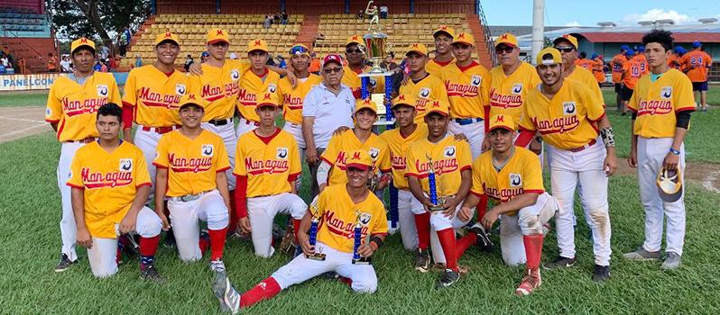 JUVENIL AA   Managua retiene título